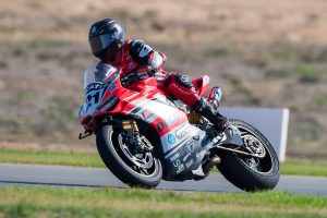 Mixed emotions for DesmoSport Ducati's Bayliss at The Bend
