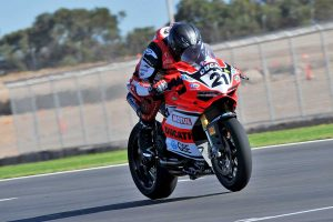 Bayliss sets Thursday ASBK pace in South Australia