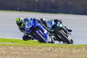 Measured ASBK Supersport race one victory to Halliday
