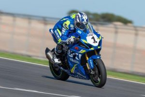 Tough weekend for Team Suzuki Ecstar Australia