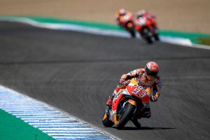 Marquez eases to victory amid MotoGP drama of Jerez