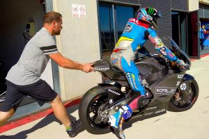 Marquez completes initial test with Triumph Moto2 engine
