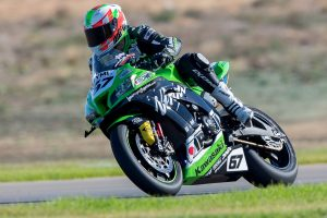 Staring completely optimistic in ASBK championship fight