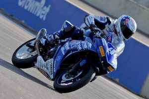 Bramich fastest overall so far in Supersport 300