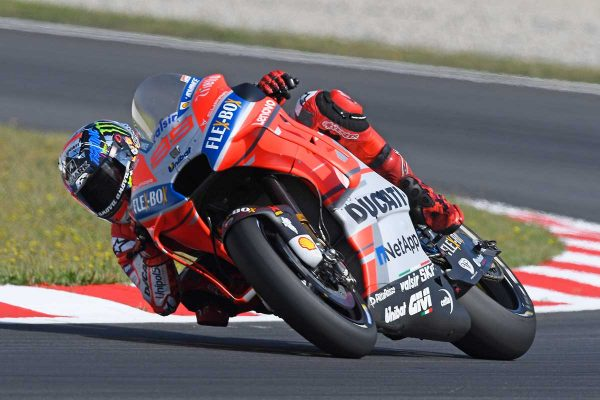 First Ducati pole position for Lorenzo in Barcelona
