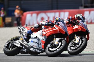 Brno draws mixed opinions from Ducati duo Lorenzo and Dovizioso