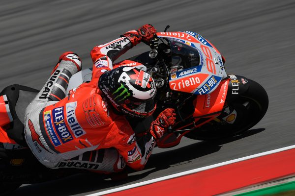 Red Bull Ring the ideal circuit for Ducati says Lorenzo