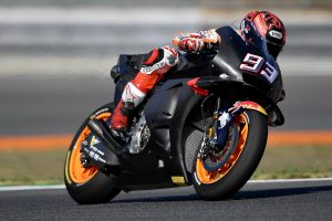 Marquez tops the timesheets in Brno MotoGP testing