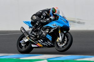 Allerton returns to riding at Phillip Island ride day