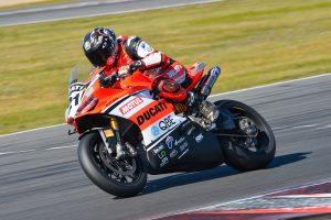 Podium boosts DesmoSport Ducati's Bayliss at Winton