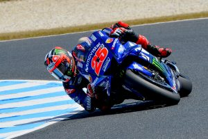 Vinales edges Miller in FP1 at Phillip Island MotoGP