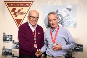 Kork Ballington honoured in Australia as MotoGP Legend