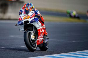 Dovizioso on pole at Motegi as Miller claims front row start