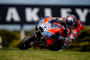Fight for second 'becoming interesting' declares Dovizioso