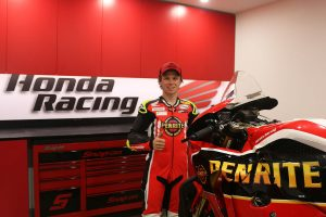 Penrite Honda Racing signs Chiodo for 2019 ASBK campaign