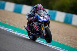Lowes kicks off Jerez WorldSBK testing with fastest time