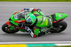 Provisionally suspended West lands Superbike Brazil seat