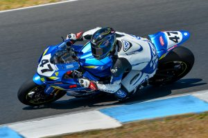 Injured Maxwell fastest on day one of Phillip Island ASBK test