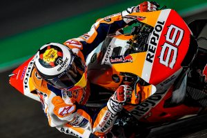 Lorenzo still coming to grips with Honda RC213V in Qatar
