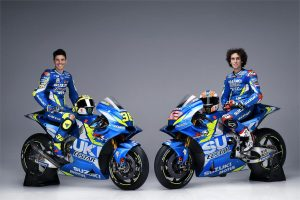 Rins and Mir headline Team Suzuki Ecstar launch