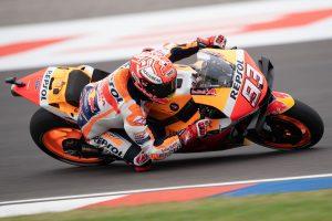 Champion Marquez storms to Argentina MotoGP pole