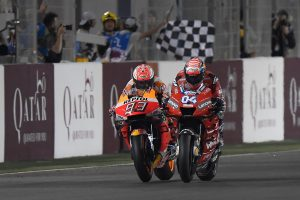 Dovizioso edges Marquez in Qatar MotoGP thriller