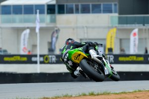 Staring unstoppable for dominant win in ASBK race two