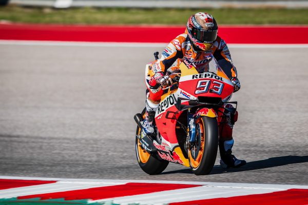 Marquez admits to mistake that ended COTA dominance