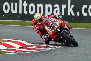 Brookes tops charts in official Oulton Park BSB test