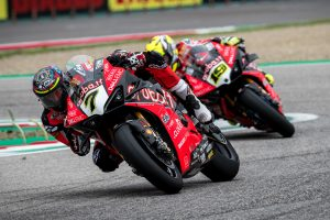 Davies optimistic as Ducati Panigale V4 R feeling improves