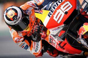 Lorenzo shaken by heavy crash in Catalunya test