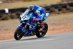 Maxwell sets the pace in Friday ASBK practice at Morgan Park