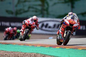 Miller positive to lead Independent standings into MotoGP break