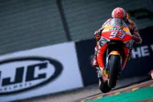 Magnificent 10th pole position for Marquez at Sachsenring