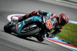 Quartararo tops the timesheets in MotoGP testing at Brno