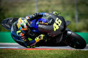 Rossi and Vinales sample 2020 YZR-M1 prototype at Brno test