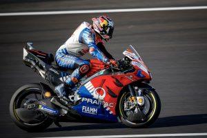 Miller battles holeshot device drama in British GP