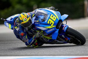 Testing crash rules Mir out of Spielberg MotoGP round