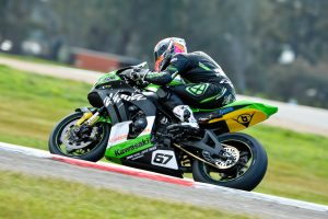 Kawasaki BCperformance and Staring still in ASBK title contention following Winton challenge