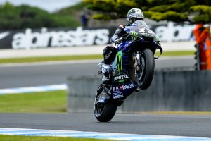 Dry FP2 session sees Vinales emerge fastest