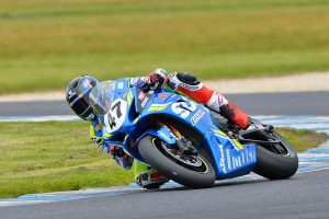 Dominant race one ASBK win for Maxwell at Phillip Island