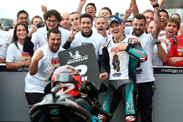 Motegi runner-up clinches Quartararo Rookie of the Year title