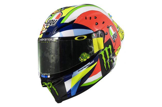 2019 AGV Pista GP RR Rossi San Marino LE helmet