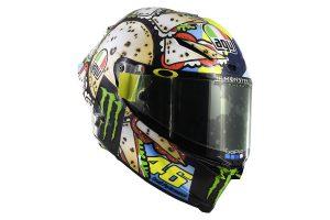 Detailed: 2019 AGV Pista GP RR Rossi San Marino LE helmet