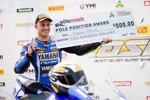 Falzon edges Herfoss for Sydney ASBK pole position