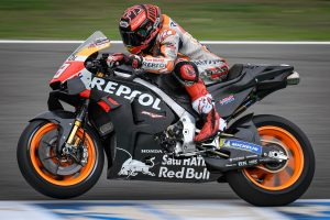 Marquez fastest on day two of weather-affected Jerez test