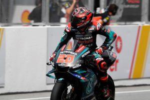 Sepang top 10 a 'tough race' for pole-sitter Quartararo