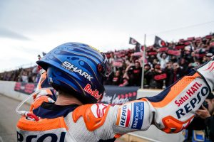 Emotional send-off for Lorenzo in final MotoGP race