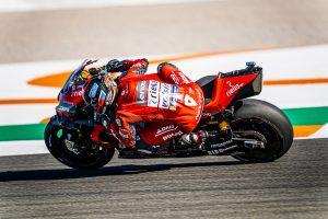 Shoulder pain hinders Petrucci at Valencia test