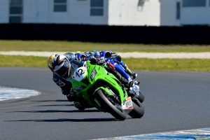 Kawasaki ASBK standout Walters lands top five result at Phillip Island ASBK round